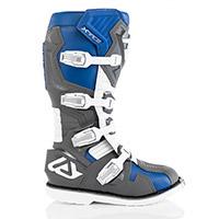 Stivali Acerbis X Race Blu Grigio