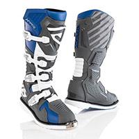 Acerbis X Race Boots Blue Grey