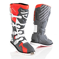 Acerbis X Race Boots Red Grey