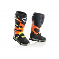 Acerbis X-rock Black Orange Boots 2018