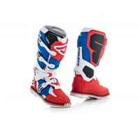Acerbis X-rock Red Blue Boots 2018