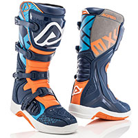 Acerbis X-team Boots Black Orange