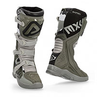 Bottes Acerbis X Team Marron Gris