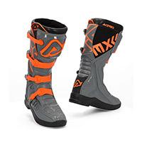 Acerbis X Team Boots Grey Orange