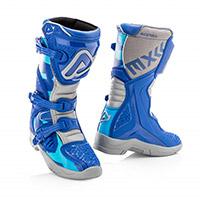 Acerbis X Team Kid Boots Blue Kid