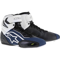 Alpinestars Faster 2 Vented Nero/navy/bianco/giallo Fluo