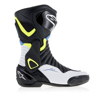 Alpinestars Smx-6 V2 Black/white/fluo Yellow/blue