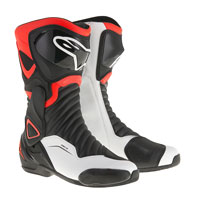 Alpinestars Smx-6 V2 Black/fluo Red/white