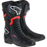 Alpinestars Smx-6 V2 Drystar Black/fluo Red