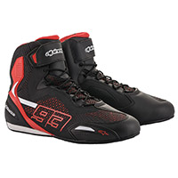 Alpinestars Austin Knitted Shoes Black Red