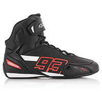 Alpinestars Austin Shoes Black Red