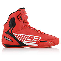Alpinestars Austin Shoes Red White