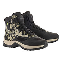 Chaussures Alpinestars Cr-6 Drystar Riding Camo
