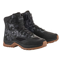 Chaussures Alpinestars Cr-6 Drystar Riding Camo Gum