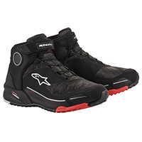 Alpinestars Cr X Drystar Shoes Camo Red