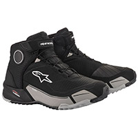 Alpinestars Cr X Drystar Shoes Black Grey