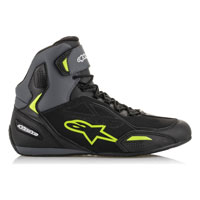 Alpinestars Faster 3 Ds Shoes Black Grey Yellow