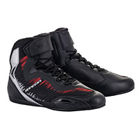 Alpinestars Faster 3 Rideknit Shoes Silver Red