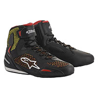 Alpinestars Faster 3 Rideknit Shoes Yellow Red
