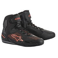 Alpinestars Faster 3 Rideknit Shoes Fluo Red