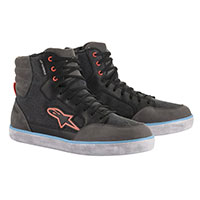 Alpinestars J-6 Waterproof Cnv Shoes Grey Blue