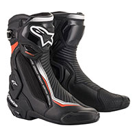 Alpinestars Smx Plus V2 Boots Black White Red