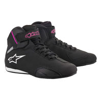 Alpinestars Stella Sektor Shoes Black Fuchsia Lady