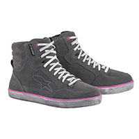Alpinestars Stella J-6 Waterproof Shoes Fuchsia Lady