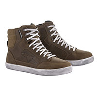 Alpinestars Stella J-6 Waterproof Shoes Brown Lady