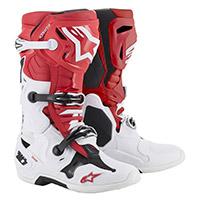 Alpinestars Tech 10 2019 Rosso Bianco