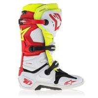 Alpinestars Tech 10 2016 Rosso Giallo Bianco