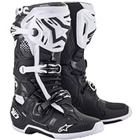 Alpinestars Tech 10 Boots Black White
