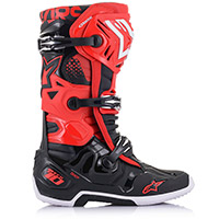 Alpinestars Tech 10 Boots Red Black