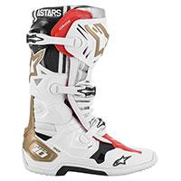 Bottes Alpinestars Tech 10 Squad 20 Ltd Blanc