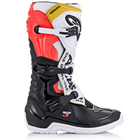 Alpinestars Tech 3 Boots White Red Yellow