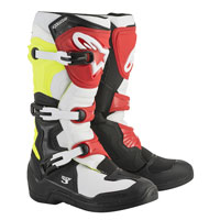 Alpinestars Tech 3 Boots Yellow White Red