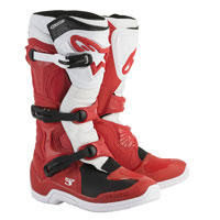 Alpinestars Tech 3 Boots White Red