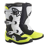 Alpinestars Tech 3s Youth Nero Giallo Fluo Bimbo