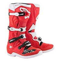Alpinestars Tech 5 Boot 2019 rojo blanco