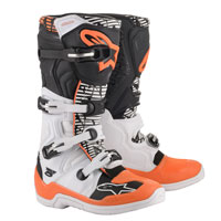 Alpinestars Tech 5 Boots 2020 White Orange
