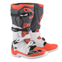 Alpinestars Tech 5 Boots 2020 White Fluo Red