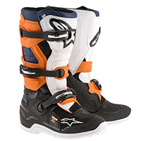 Alpinestars Tech 7s Boot Blu Arancio Bianco Bimbo
