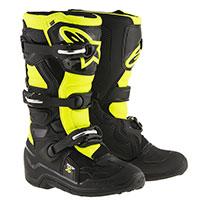 Alpinestars Tech 7s Boot Bimbo Nero Giallo Bimbo