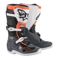 Alpinestars Youth Tech 7s Boots 2020 Black Orange Kinder