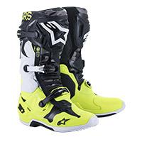 Alpinestars Tech 7 Ams 21 Boots Yellow Fluo