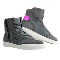 Dainese Metropolis Shoes Lady Grey Pink