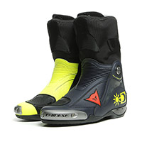 Dainese Axial D1 Replica Valentino Boots Yellow