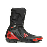 Dainese Axial Gore-tex Boots Black Lava Red