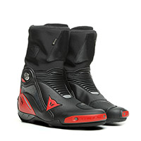 Botas Dainese Axial Gore-Tex negro lava rojo
