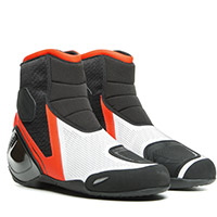Dainese Dinamica Air Shoes Fluo Red White